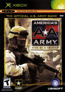 *USED* America's Army * Rise of a Soldier
