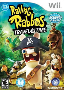 *USED* RAVING RABBIDS TRAVEL TIME