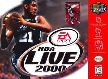 *USED* NBA LIVE 2000