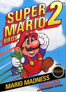 *USED* SUPER MARIO BROS 2