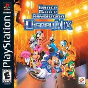 *USED* DANCE DANCE REVOLUTION DISNEY MIX [E] (#083717171218)