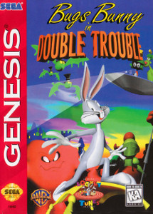 *USED* BUGS BUNNY IN DOUBLE TROUBLE (#010086018400)