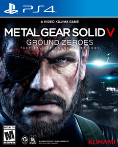 *USED* PS4 METAL GEAR SOLID V GROUND (#083717202899)