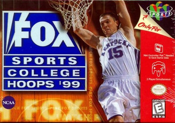*USED* FOX Sports College Hoops '99 (#086162053023)