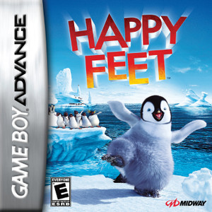*USED* HAPPY FEET [E] (#031719191604)