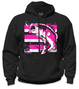SafetyShirtz - Bass Safety Hoodie - Pink/Black