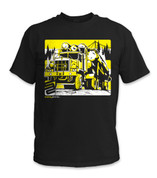 SafetyShirtz - Log Truck Safety Shirt - Yellow/Black