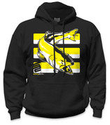 SafetyShirtz - Salmon Safety Hoodie - Yellow/Black