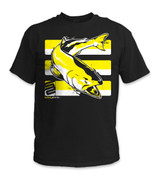 SafetyShirtz - Salmon Safety Shirt - Yellow/Black