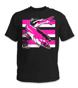 SafetyShirtz - Salmon Safety Shirt - Pink/Black