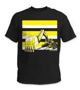 SafetyShirtz - Youth Excavator Safety Shirt - Yellow/Black