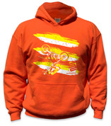 SafetyShirtz - Youth Moto Safety Hoodie - Yellow/Orange