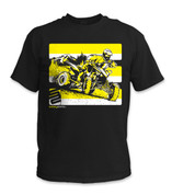 SafetyShirtz - Quad Safety Shirt - Yellow/Black