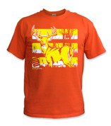 Buck T-Shirt- Yellow/ Orange