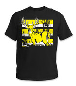 Buck T-Shirt- Yellow/ Black