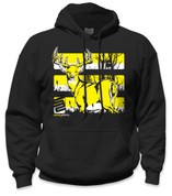SafetyShirtz - Buck Safety Hoodie - Yellow/Black