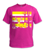 SafetyShirtz - Youth Buck Safety Shirt - Yellow/Pink