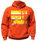 SafetyShirtz - Youth Buck Safety Hoodie - Yellow/Orange