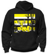 SafetyShirtz - Youth Buck Safety Hoodie - Yellow/Black
