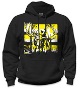 Moose Hoodie- Yellow/ Black