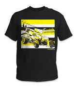 SafetyShirtz - Youth Sprint Car Safety Shirt - Yellow/Black