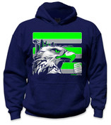 SafetyShirtz - Youth Seattle Safety Hoodie - Green/Gray/Navy