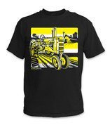 SafetyShirtz - Tractor Safety Shirt - Yellow/Black