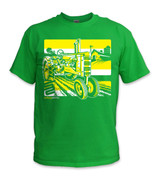 SafetyShirtz - Tractor Safety Shirt - Yellow/Green