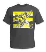SafetyShirtz - Snowmobile Safety Shirt - Yellow/Gray