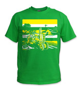 SafetyShirtz - Youth Tractor Safety Shirt - Yellow/Green