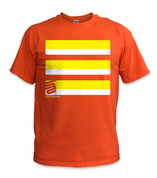 Basic T-Shirt- Yellow/ Orange