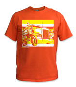 Dump Truck T-Shirt- Yellow/ Orange