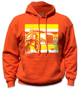 SafetyShirtz - Dump Truck Safety Hoodie - Yellow/Orange
