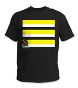 SafetyShirtz - Basic Safety Shirt - Yellow/Black