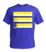 SafetyShirtz - Basic Safety Shirt - Yellow/Royal