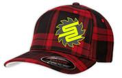 SafetyShirtz - SS Flannel Flexfit Hat - Red/Black