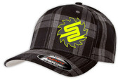 SafetyShirtz - SS Flannel Flexfit Hat - Gray/Black