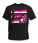 SafetyShirtz - Youth Horse Safety Shirt - Pink/Black