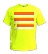 Basic T-Shirt- Orange/ Yellow
