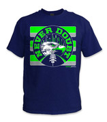 SafetyShirtz - NEVER DOUBT Safety Shirt - Green/Gray/Navy