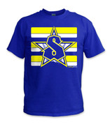 Classic T-Shirt - Yellow/Royal