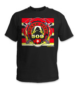 SafetyShirtz - STAND WITH 509 Safety Shirt - Red/Yellow/Black