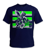 SafetyShirtz - 12 Army Safety Shirt - Green/Gray/Navy