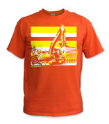 SafetyShirtz - NEW Excavator Safety Shirt - Yellow/Orange