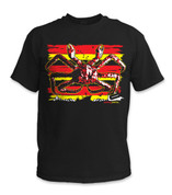 SafetyShirtz - King Crab Safety Shirt - Red/Yellow/Black