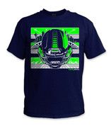 SafetyShirtz - Boom City Safety Shirt - Green/Gray/Navy