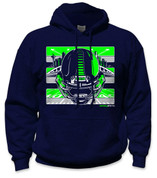SafetyShirtz - Boom City Safety Hoodie - Green/Gray/Navy
