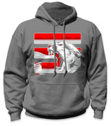 SafetyShirtz - The Palouse Safety Hoodie - Red/Crimson/Gray