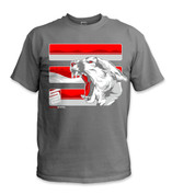 SafetyShirtz - The Palouse Safety Shirt - Red/Crimson/Gray