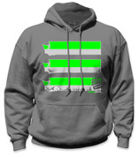 SafetyShirtz - Washington Safety Hoodie - Green/Gray